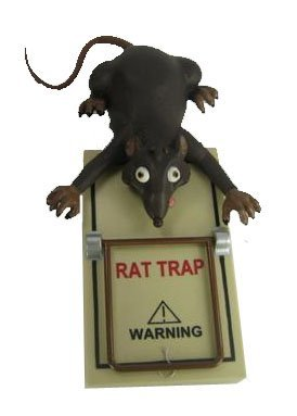 Rat In A Trap - Sonic Control Novelty Prank Toy