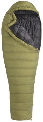 Marmot Hydrogen Down Sleeping Bag, Regular Left, Green