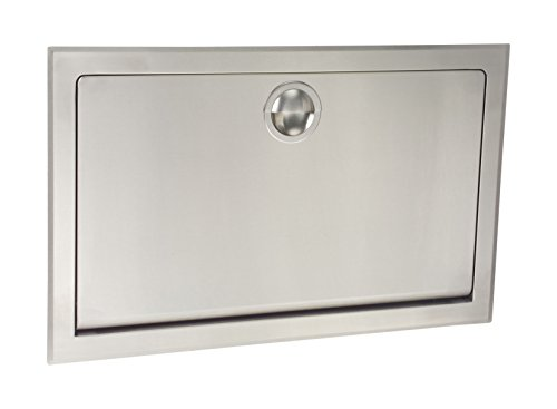 Koala Kare KB110-SSRE Horizontal Recessed Baby Changing Station, Stainless Steel