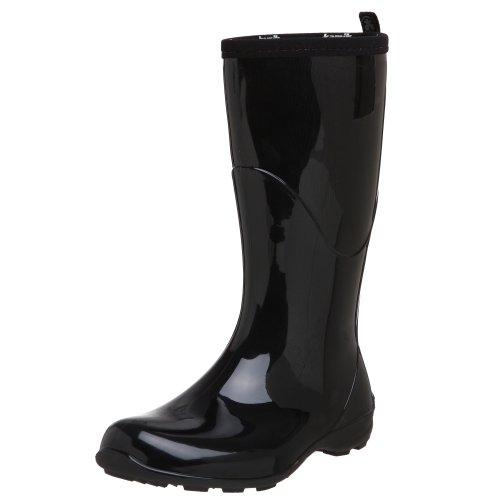 Kamik Women's Heidi Rain Boot,Black,9 M US