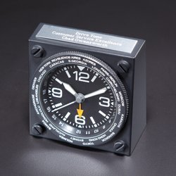 Magnet Group 8243 Aviator World Time Clock Benchmark Clock