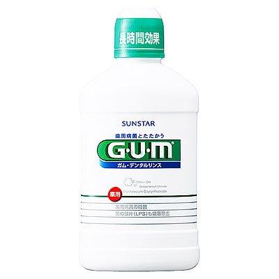 GUM デンタルリンス レギュラー 250ml