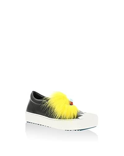 Fendi Slip-On  [Nero/Giallo]