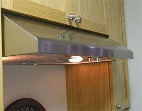 Imperial Slim Line 30 inch Under Cabinet Mount Range Hood, 740 CFM,  Stainless Steel