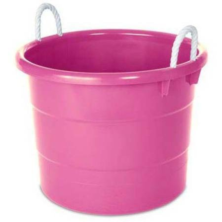 Kids Storage Rope Handle Tub, Set of 4,18-Gallon (18 Gallon Storage Tubs compare prices)