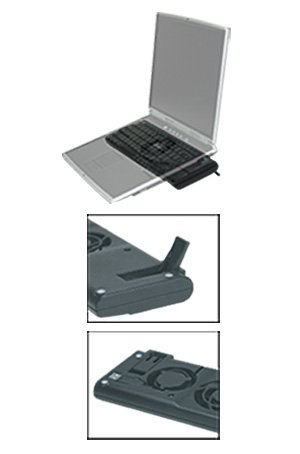 Buy Low Price Comfortable Aidata Laptop Cooling Stand (for12″-17″) black, clamshell (B004OI5CJ8)