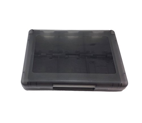 Yueton® 28 in 1 Game Card Holder Cartridge Case Box for Nintendo 3DS, 3DS XL, 3DS LL (Black)