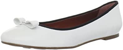 Marc by Marc Jacobs Women's 625040/22 Ballerina Flat,White ,35.5 EU/5.5 M US