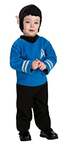 Rubie's Costume Star Trek Into Darkness Spock Romper / Headpiece
