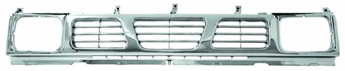 IPCW CWG-DS3007H0C Nissan Pickup Chrome Grille (Nissan Pickup 1994 Accessories compare prices)
