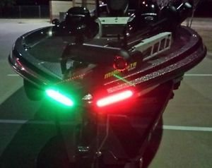 Boat Bow LED Lighting RED & Green Kit (Bow Running Lights compare prices)