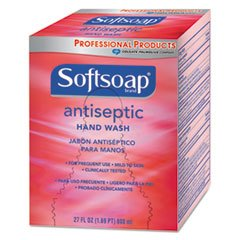 Softsoap CPM-01930 Antiseptic Hand Soap, 800 mL Refill, Red (Pack of 12)