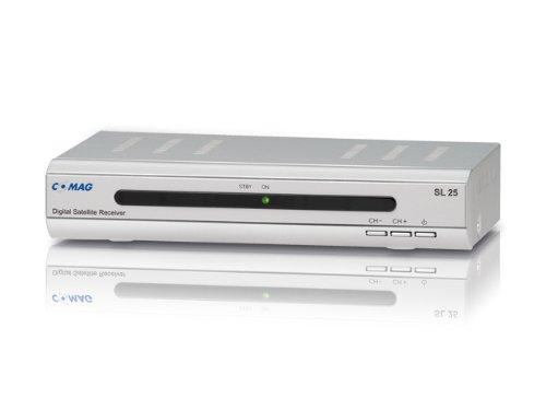 Comag SL25 digitaler Satelliten-Receiver (DVB-S, SCART, 1-er Stück) silber