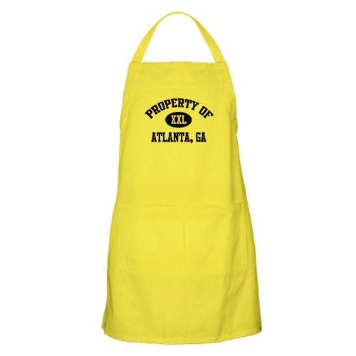 Cafepress Property Of Atlanta BBQ Apron - Standard