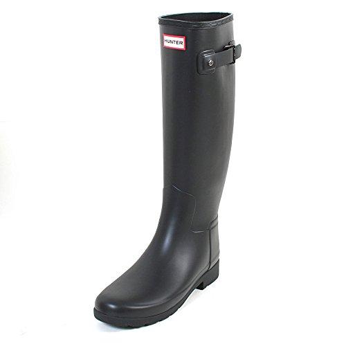 Hunter Original Donna Nero Refined Stivali di Gomma-UK 7