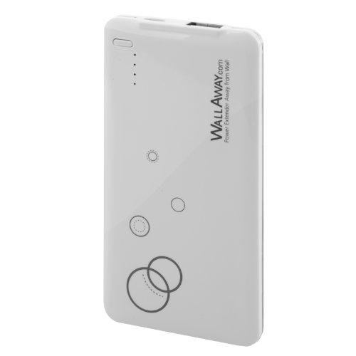 Wallaway Reno 3900Mah Slim Power Bank With Floral Print Portable Battery Pack For Apple: Iphone 5S, 5C, 5, 4S, 4, Ipad 4, Ipad Air, The New Ipad, Ipad Mini, Samsung Galaxy S5, S4, S3, S2, Note 3, Note 2, Htc One, Evo, Droid Dna, Motorola Atrix, Droid, Goo