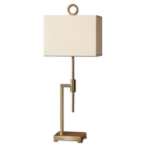 Uttermost 29943-1 Feldon Coffee Bronze Accent Lamp front-1065014