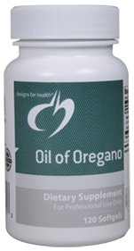 Designs for Health - Oil of Oregano, 120 Softgels