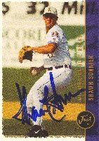 Shawn Sonnier Wilmington Blue Rocks - Royals Affiliate 1999 Just Autographed Hand... by Hall of Fame Memorabilia