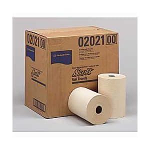 KIMBERLY CLARK Scott Embossed Brown Paper Towels - Kraft: Paper Towel