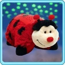 "Pillow Pets Dream Lites - Ms. Ladybug 11"" - 1"