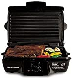 inside grill:Hamilton Beach 25325 MealMaker Express Contact Grill