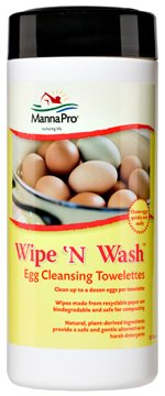 Wipe N Wash Egg Cleansing Towelettes