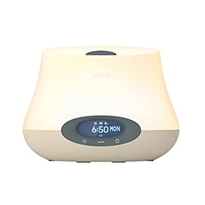 Lumie Bodyclock IRIS 500 - Aromatherapy Wake-Up Light Alarm Clock