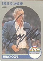 Doug Moe Denver Nuggets 1990 Hoops Autographed Hand Signed Trading Card - Nice... by Hall+of+Fame+Memorabilia
