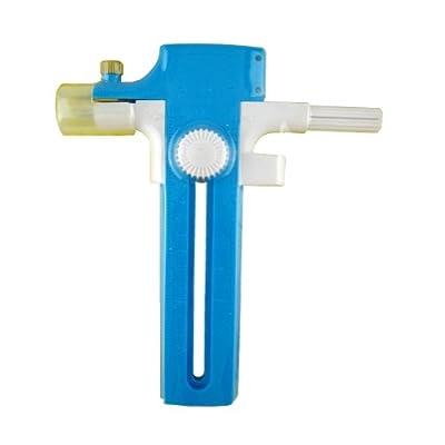 Daiso Japan Perfect Circle Compass Cutter, Light Blue