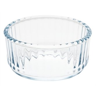 4 X Pyrex Ramekin. Durable Glass Ramekin, Ideal For Oven To Table Service. Oven, Microwave And Dishwasher Safe. Great For Souffles And Cakes
