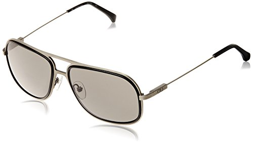 Calvin Klein Jeans UV Protected Rectangular Unisex Sunglasses (CKJ-109-S-001_57)