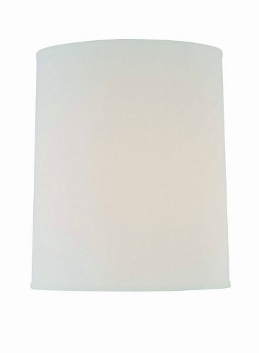 lite source ch1186 15 15 inch lamp shade off white home. Black Bedroom Furniture Sets. Home Design Ideas
