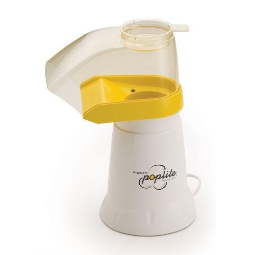 Presto 04820 Poplite Hot Air Popper, White Color: Yellow Home & Kitchen