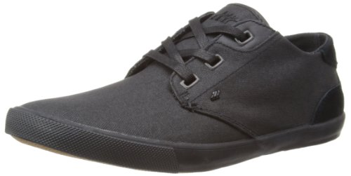 Boxfresh Mens Stern Low-Top E12617 Black/Black 8 UK, 42 EU