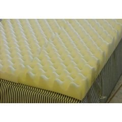 Foam Eggcrate Mattress Overlay - Size Queen - 56