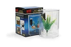 Mini Round Deco Aquarium (Catalog Category: Aquarium / Plastic Fish Bowls)
