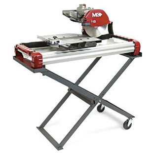 MK TX 3 Tile Saw with Misting System & Stand