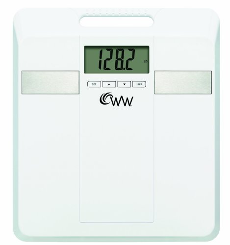 Cheap Conair WW405 Weight Watchers Tracker Scale with Handle, White (WW405)