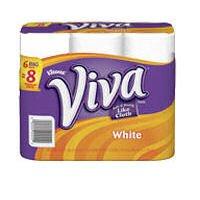 Viva Big Roll (1.25X Regular), 6 ct