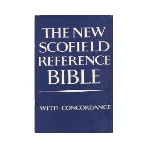 Amazon.com: New Scofield Reference Bible - Holy Bible - Authorized ...