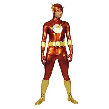 Kaifina-Red-And-Gold-Flash-Shiny-Metallic-Super-Hero-Zentai-Suit