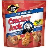 Cracker Jack Original Caramel Coated Popcorn and Peanuts 8.5 Oz. [Pack of 3]