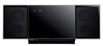Panasonic コンパクトステレオシステム AirPlay/Bluetooth対応 ブラック SC-HC58-K