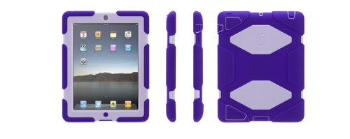 Griffin Survivor Case for iPad 2/3 - Purple and Lavender (GB35452-2)