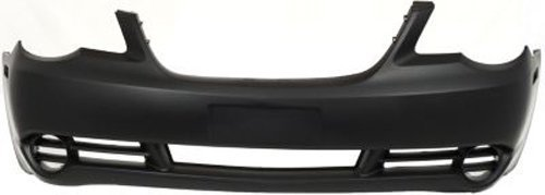 Crash Parts Plus Primed Front Bumper Cover Replacement for 2007-2010 Chrysler Sebring (Chrysler Sebring 2009 Bumper compare prices)