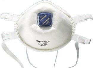 Uniqat - Maschera protettiva anti-particelle FF P-3, con valvola di respirazione