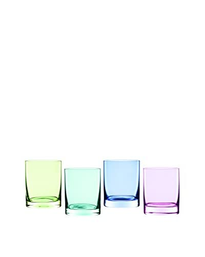 Marquis by Waterford Set of 4 Vintage Ombré 13-Oz. Double Old Fashioned Glasses