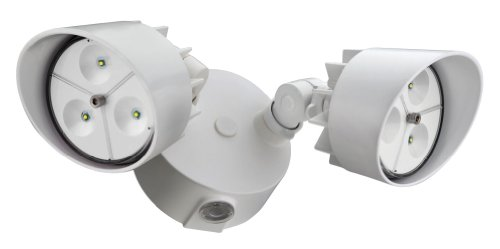 Buy Lithonia Lighting Online: Lithonia OFLR 6LC 120 P WH LED Outdoor Floodlight 2-Light