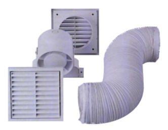 rohr einschubl fter 100mm klimaanlage zu hause. Black Bedroom Furniture Sets. Home Design Ideas